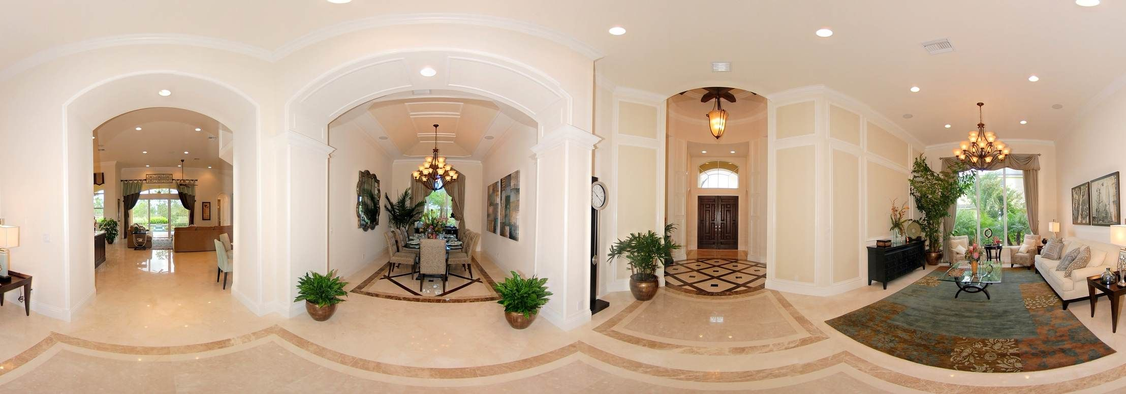 Formal Dinning Rm, Living Rm & Foyer