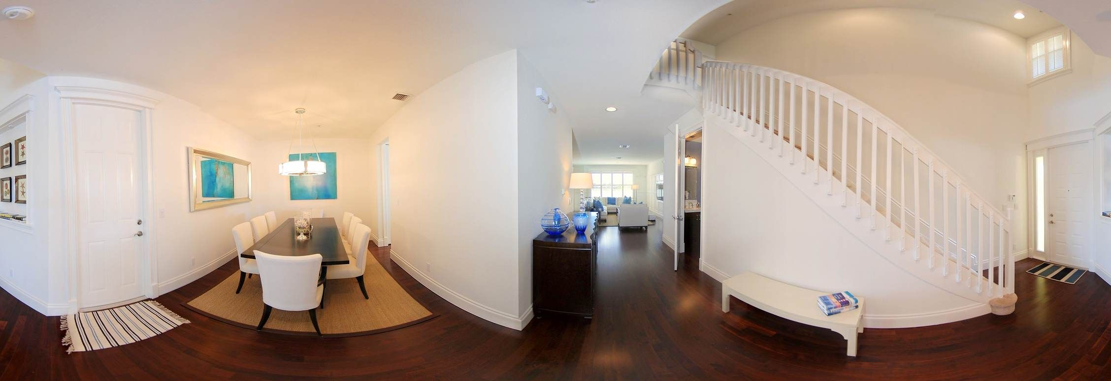 Foyer and Dinnnig Room